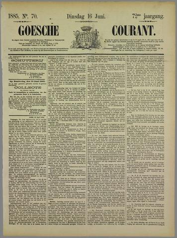 Goessche Courant 1885-06-16