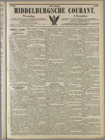 Middelburgsche Courant 1903-12-02