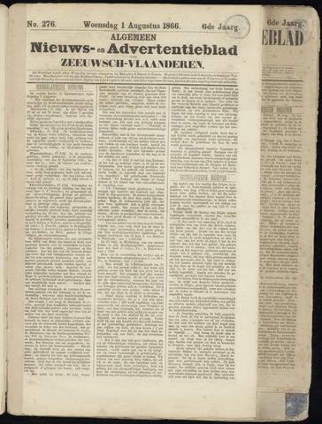 Ter Neuzensche Courant. Algemeen Nieuws- en Advertentieblad voor Zeeuwsch-Vlaanderen / Neuzensche Courant ... (idem) / (Algemeen) nieuws en advertentieblad voor Zeeuwsch-Vlaanderen 1866-08-01