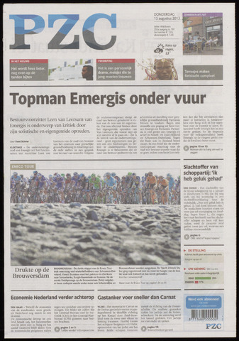 Provinciale Zeeuwse Courant 2013-08-15
