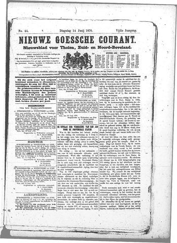 Nieuwe Goessche Courant 1870-06-14
