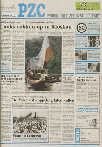 Provinciale Zeeuwse Courant 1991-08-21