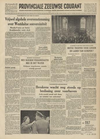 Provinciale Zeeuwse Courant 1954-10-21