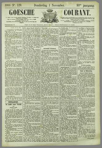 Goessche Courant 1906-11-01