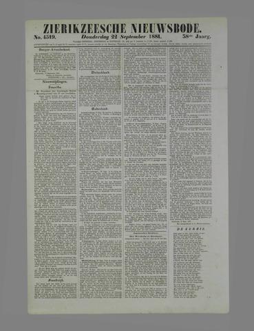 Zierikzeesche Nieuwsbode 1881-09-22