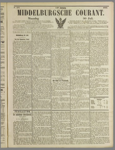 Middelburgsche Courant 1906-07-30