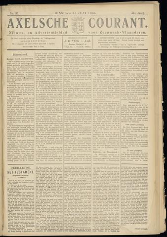 Axelsche Courant 1935-06-25
