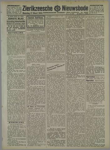 Zierikzeesche Nieuwsbode 1933-03-27