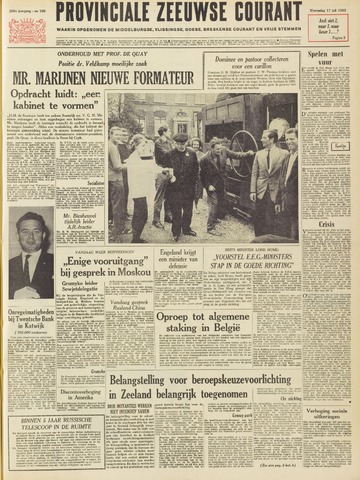 Provinciale Zeeuwse Courant 1963-07-17