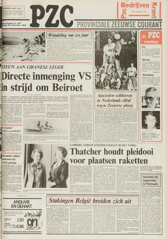 Provinciale Zeeuwse Courant 1983-09-20