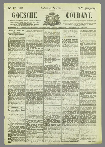 Goessche Courant 1912-06-08