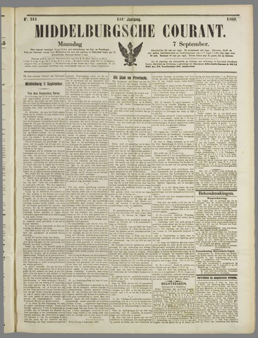 Middelburgsche Courant 1908-09-07