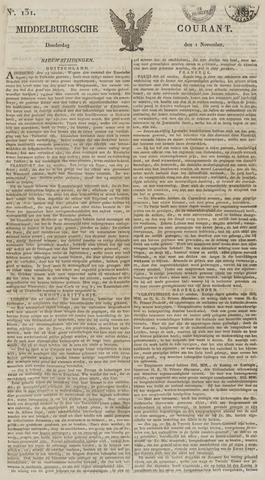Middelburgsche Courant 1827-11-01