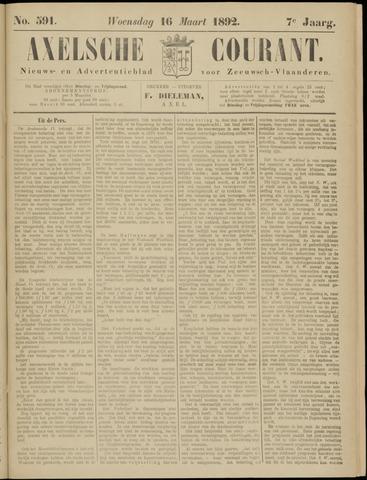 Axelsche Courant 1892-03-16