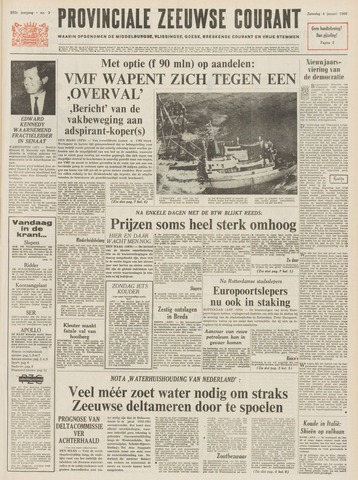 Provinciale Zeeuwse Courant 1969-01-04