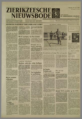 Zierikzeesche Nieuwsbode 1963-06-10