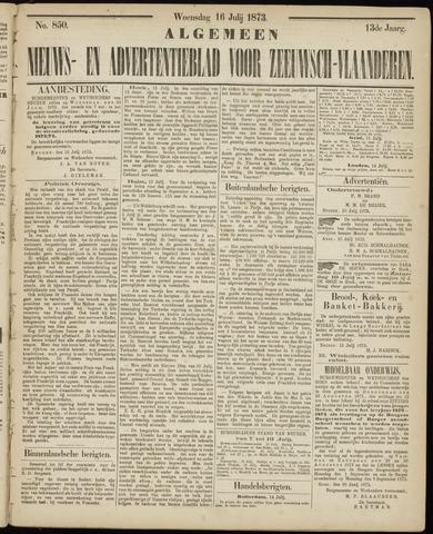 Ter Neuzensche Courant. Algemeen Nieuws- en Advertentieblad voor Zeeuwsch-Vlaanderen / Neuzensche Courant ... (idem) / (Algemeen) nieuws en advertentieblad voor Zeeuwsch-Vlaanderen 1873-07-16