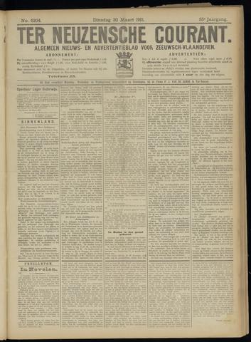 Ter Neuzensche Courant. Algemeen Nieuws- en Advertentieblad voor Zeeuwsch-Vlaanderen / Neuzensche Courant ... (idem) / (Algemeen) nieuws en advertentieblad voor Zeeuwsch-Vlaanderen 1915-03-30