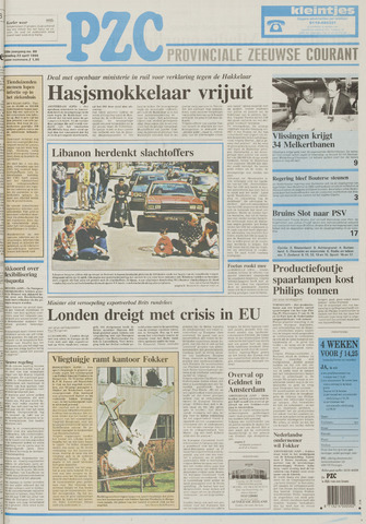 Provinciale Zeeuwse Courant 1996-04-23