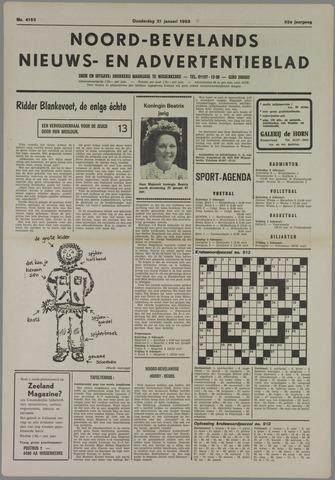 Noord-Bevelands Nieuws- en advertentieblad 1985-01-31