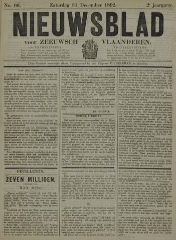 Nieuwsblad voor Zeeuwsch-Vlaanderen 1892-12-31