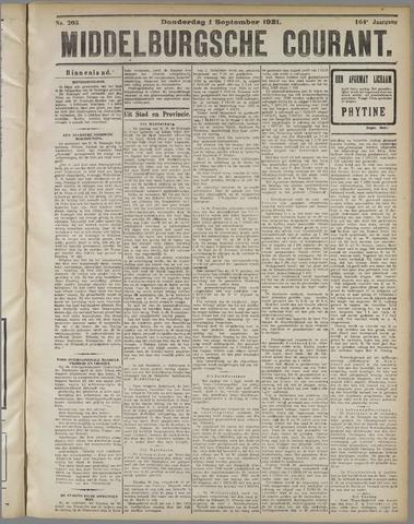 Middelburgsche Courant 1921-09-01