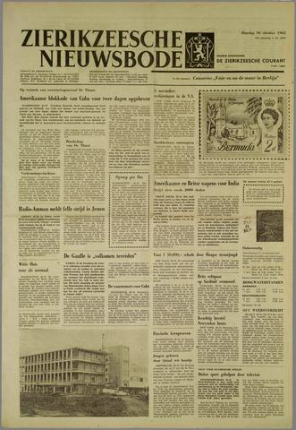 Zierikzeesche Nieuwsbode 1962-10-30