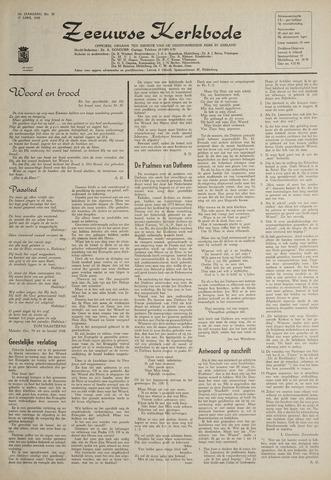 Zeeuwsche kerkbode, weekblad gewijd aan de belangen der gereformeerde kerken/ Zeeuwsch kerkblad 1969-04-17