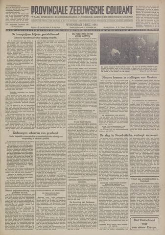 Provinciale Zeeuwse Courant 1941-12-03