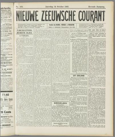 Nieuwe Zeeuwsche Courant 1911-10-14