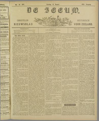 De Zeeuw. Christelijk-historisch nieuwsblad voor Zeeland 1897-01-16