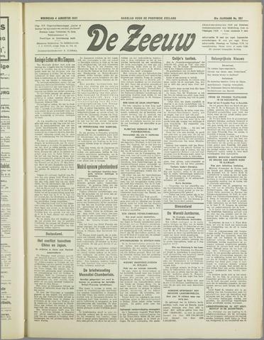 De Zeeuw. Christelijk-historisch nieuwsblad voor Zeeland 1937-08-04