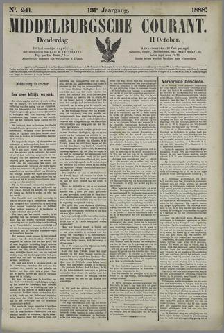 Middelburgsche Courant 1888-10-11