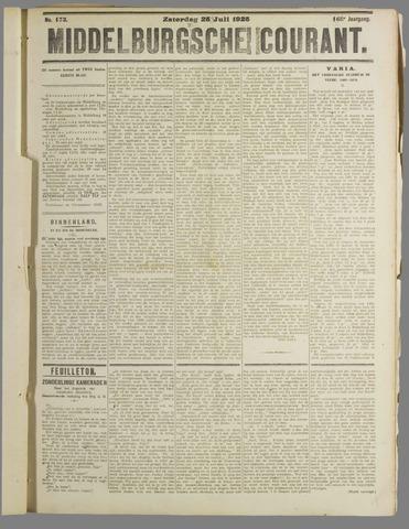Middelburgsche Courant 1925-07-25