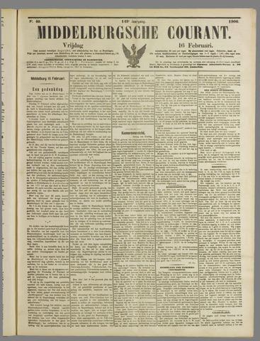 Middelburgsche Courant 1906-02-16