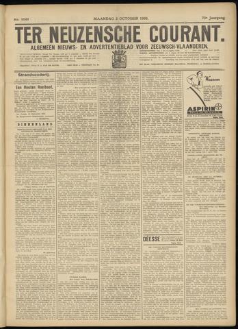 Ter Neuzensche Courant. Algemeen Nieuws- en Advertentieblad voor Zeeuwsch-Vlaanderen / Neuzensche Courant ... (idem) / (Algemeen) nieuws en advertentieblad voor Zeeuwsch-Vlaanderen 1933-10-02