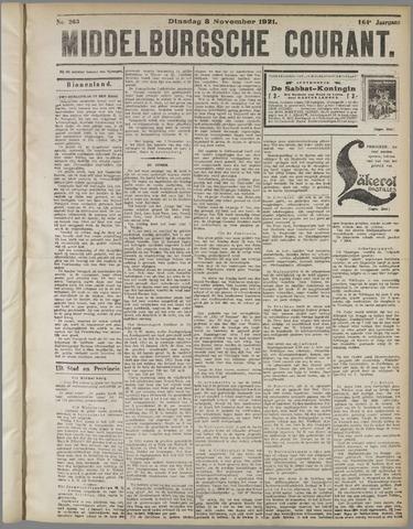 Middelburgsche Courant 1921-11-08