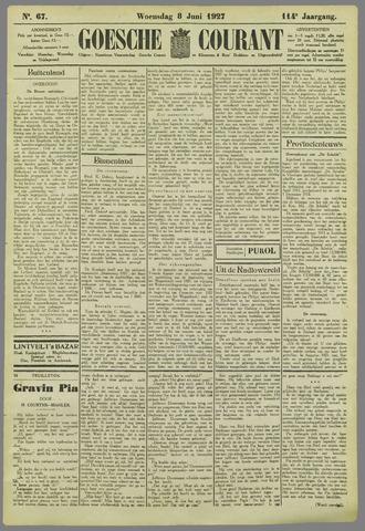 Goessche Courant 1927-06-08