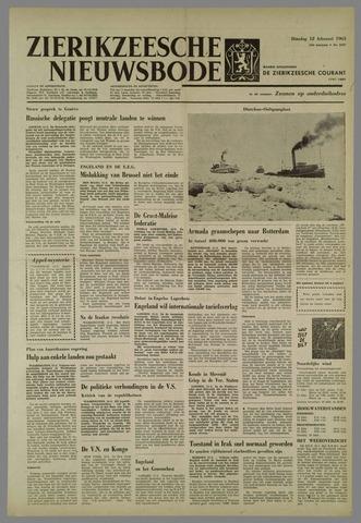 Zierikzeesche Nieuwsbode 1963-02-12