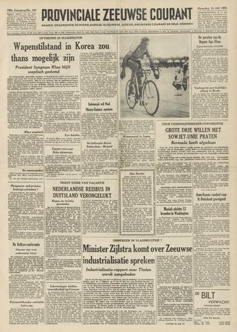 Provinciale Zeeuwse Courant 1953-07-13