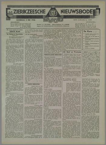 Zierikzeesche Nieuwsbode 1936-05-02