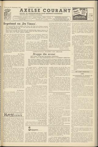Axelsche Courant 1957-06-01