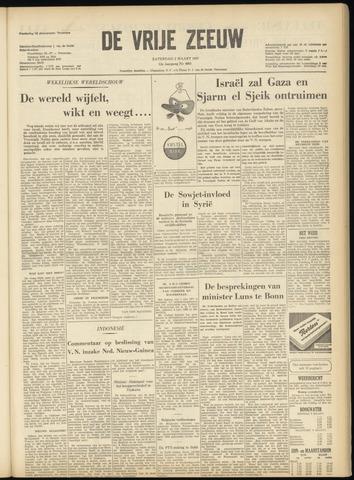 de Vrije Zeeuw 1957-03-02