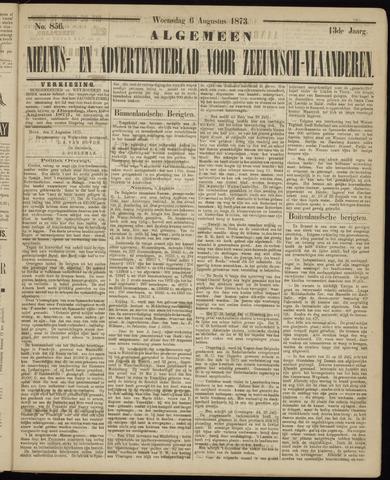 Ter Neuzensche Courant. Algemeen Nieuws- en Advertentieblad voor Zeeuwsch-Vlaanderen / Neuzensche Courant ... (idem) / (Algemeen) nieuws en advertentieblad voor Zeeuwsch-Vlaanderen 1873-08-06