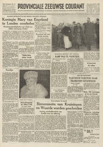 Provinciale Zeeuwse Courant 1953-03-25