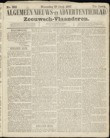 Ter Neuzensche Courant. Algemeen Nieuws- en Advertentieblad voor Zeeuwsch-Vlaanderen / Neuzensche Courant ... (idem) / (Algemeen) nieuws en advertentieblad voor Zeeuwsch-Vlaanderen 1867-06-19