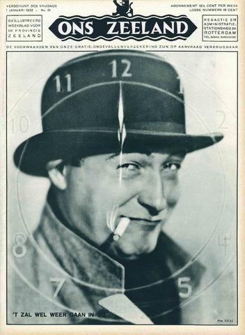 Ons Zeeland / Zeeuwsche editie 1932