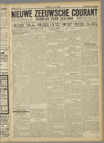 Nieuwe Zeeuwsche Courant 1922-07-11