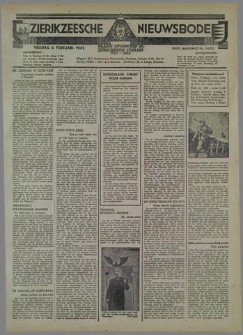 Zierikzeesche Nieuwsbode 1942-02-06