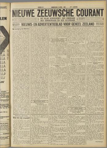 Nieuwe Zeeuwsche Courant 1931-04-02
